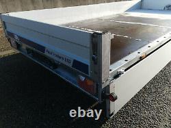Remorque De Voiture Flatbed Twin Axle 5,0 M X 2,16 M 2700 KG Avec! Lumières Led