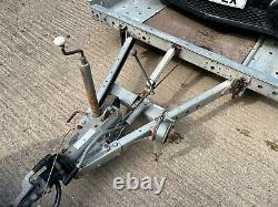 Remorque De Voiture Inclinable Woodford Twin Axle 3000 KG Capacité De Charge