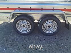 Remorque De Voiture Tout Nouveau Twin Axle 8'7 X 4'1 750 KG