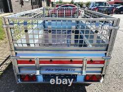 Remorque De Voiture Tout Nouveau Twin Axle 8'7 X 4'1 750 KG Côtés En Cage