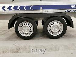 Remorque De Voiture Twin Axle 2,61 M X 1,38 M (8'7 X 4'6) 750 KG Côtés En Caged