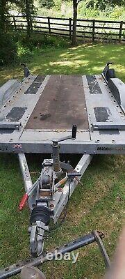 Remorque De Voiture Twin Axle Utilisé