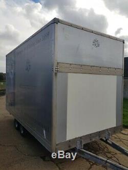 Remorque Double Essieu Luton Box