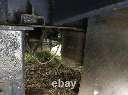 Remorque Grosse Queue De Castor Traînée Double Essieu De 12 Tonnes Sur Une Suspension Pneumatique 50mm Oeil De Remorquage
