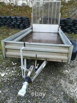 Remorque Indespension Twin Axle Plant