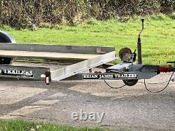 Remorque Jumelle D'essieu De Transporteur De Voiture De Brian James