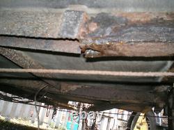 Remorque Jumelle De Fourgon D'essieu, Mesures Internes 3.7m Long 1.92m De Haut 1.7m De Large