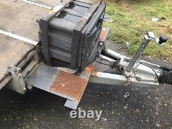 Remorque Jumelle De Transporteur De Voiture D'essieu