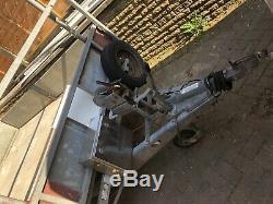 Remorque Latérale Ifor Williams Twin Axle Drop 3500kg