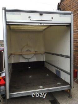 Remorque Master Twin Axle Car Box 8ft X 5 Ft X 6ft En Excellent État