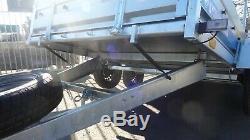 Remorque Neuve Pour Voiture 10x5 À Double Essieu Sans Frein 750kg Al-ko Box Trailer Niewiadow