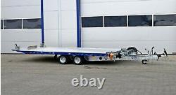 Remorque Tiltbed 4,5m X 2,16m Twin Axle 2500kg Car Transporter 14.7ft X 7ft