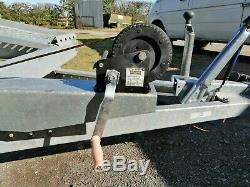 Remorque Transport De Voitures À Deux Essieux 4 M X 2,0 M 2750dmc, 2120kg