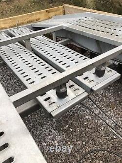 Remorque Transporteur De Voiture Twin Essieu 2700kg 12v Winch