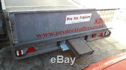 Remorque Transporteur De Voitures Grand, Twinaxle, Transporteur De Voitures, Une Remorque Usine