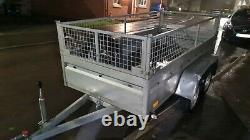 Remorque Twin Axle 750kg Remorque De Basculement