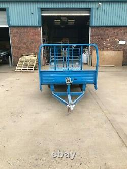 Remorque Twin Axle Beavertail Rampes