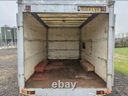 Remorque Twin Axle Box