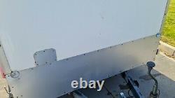 Remorque Twin Axle Box 2000kg