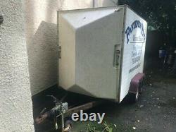 Remorque Twin Axle Box D'utilisé