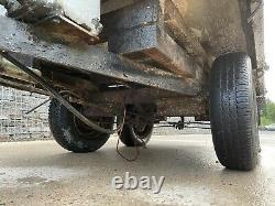 Remorque Twin Axle Tipping 7x4 Réparations De Pièces Détachées De Projet Box Off Road Camping
