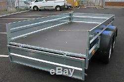 Remorque Voiture Faro Solidus À Double Essieu 300mx150m 750kg 9 Ft X 4 Ft