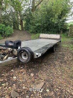 Remorque/transporteur De Voiture Tilt Bed, Remorque À Essieu Double