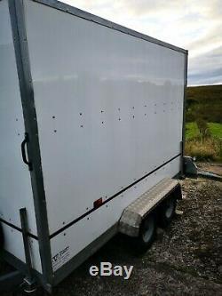 Remorques Boîte D'essieux Doubles D'occasion