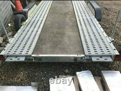 Remorques Prg Car Transporter Trailer Twin Axle