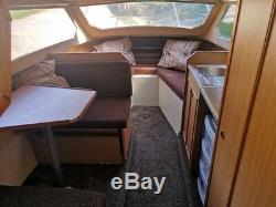 Shetland 4 + 2 Cruiser / Boat. Remorque Double Essieu Mariner 90hp Et Sbs