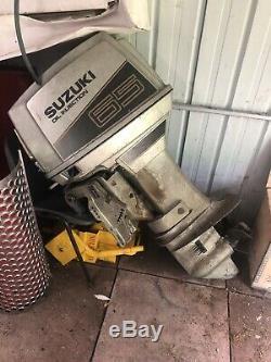 Shetland Family Four Bateau Double Essieu Remorque 65 Suzuki Moteur 16ft Projet Resto