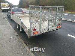 St Austell Remorque Comme Ifor Williams Double Essieu Usine Car Transporter 12ft
