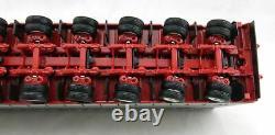 Tekno 71642 Meusburger 6 Essieux Dropdeck Trailer Pilotable Twin Tyres 150