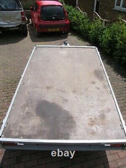 Tema Transporteur Twin Axle Car Box Trailer, Sur 8x5ft Dimension Interne