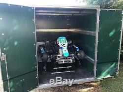 Tickner Box Remorque Karting À Deux Axes Motorcross