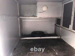 Tickners Box Remorque, Double Essieu, 3000kg Freinée. Design Unique