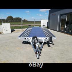 Tilt Lit Remorque 14.7ft X 7ft Double Essieu Mgw 2700kg Car Transporter