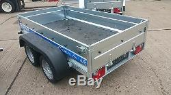 Toile Couverture 4 Double Axle Remorque Voiture 8x4 Classe Plat + 750 KG Remorque Voiture Gratuit
