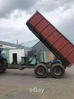 Tracteur Twin Axle Benne