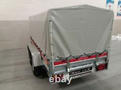 Traiteur En Box 8'7 X 4'1 Twin Axle Non Braked 750kg Double Axle