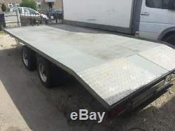 Transporteur De Récupération De Remorque Beavertail 16 Pieds 3,5 Tonnes À Roue À Double Essieu Richardson