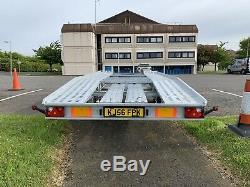Transporteur De Remorque De Véhicule De Voiture À Deux Essieux De 2019 Borq 4,5 X 2,1 Mètres 2700kg DMC