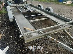 Twin Essieu Voiture Galvanisée Remorque 14ft 6ft 2500kg