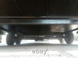 Utilisé Double Axle Box Remorque