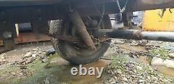 Very Heavy Duty Twin Defender Essieu Freiné Grand Trailer Unfinished Project