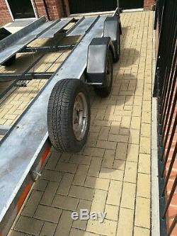 Voiture Double Essieu Remorque Transporter 16ft