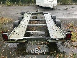Woodford Wbt020 Léger, Widebody Double Essieu Remorque Voiture / Transporter
